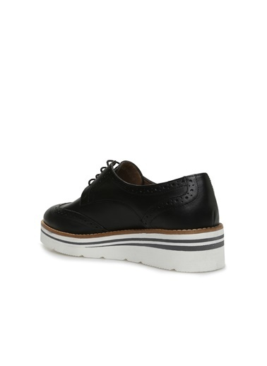 Divarese Divarese 5024236 Kadın Deri Ayakkabı Siyah